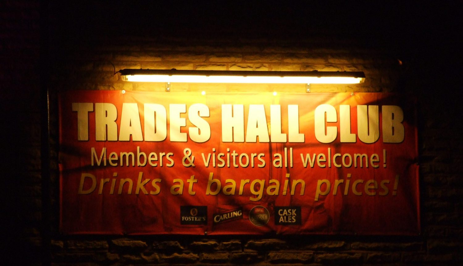 Bamber Bridge Trades Hall Club & Institute  CAMRA CLUB of the YEAR 2018